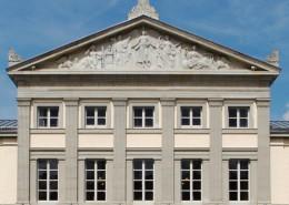 Alte Aula am Wilhelmsplatz - 2003 renoviertes GebŠude aus dem Kernbestand der UniversitŠtsgrŸndng im 18.Jh.