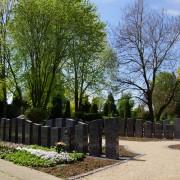 Pflegeleichte Grabstelle, inklusive Grabstein und Grabpflege