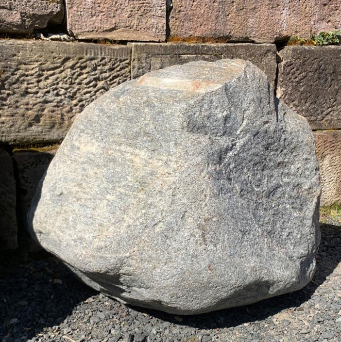 Felsen in unserer Ausstellung