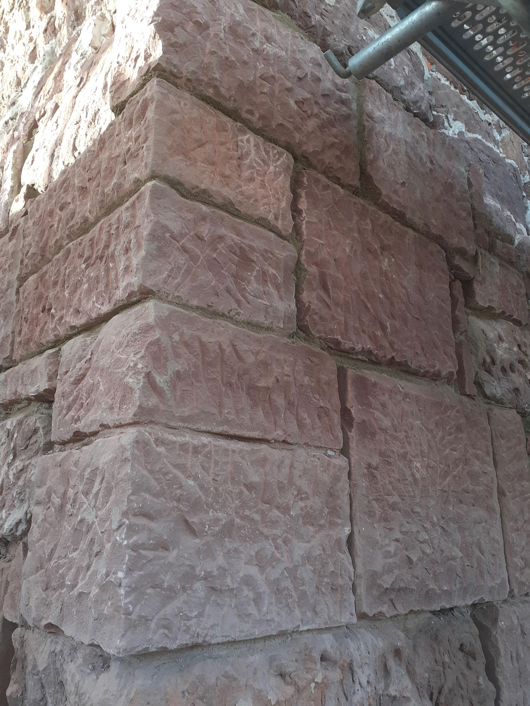 Kirche_Wulften_Zwischenstand_Quadermauerwerk